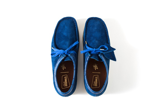 Wallabee Blue 4